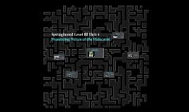 Springboard Level III Unit 4