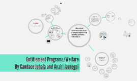 Entitlement Programs/Welfare
