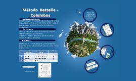 Copy of Método del Instituto Batelle – Columbus