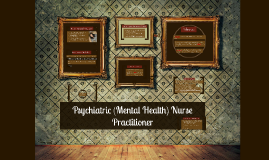 Psychiatric Nurse Practioner