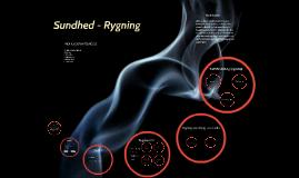 Sundhed - Rygning