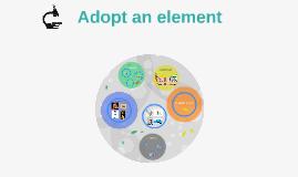 Adopt an element