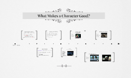 What Makes a Character Good?