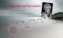 Copy of Faith, Hope and Reconciliation