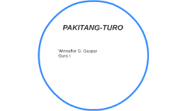 PAKITANG-TURO