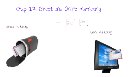 Copy of Chapter 17 Direct and online marketing