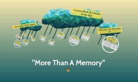 """More Than A Memory"""