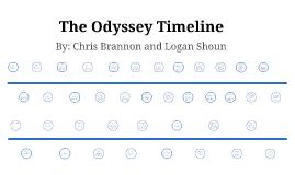 the odyssey timeline by chris brannon on prezi