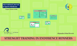 STRENGHT TRAINING IN ENDURENCE RUNNERS