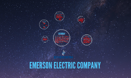 EMERSON ELECTRIC COMPANY