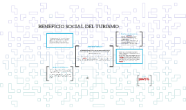 BENEFICIO SOCIAL DEL TURISMO