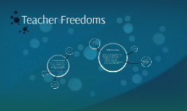 Teacher Freedoms