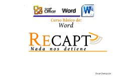 Copy of Curso Basico de Word