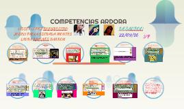 COMPETENCIAS ARDORA