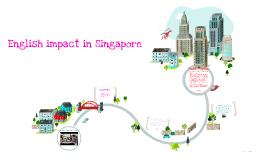 English impact in Singapore