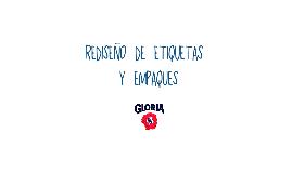 """Rediseño de Etiquetas y Empaques """"Leche Gloria"""""""