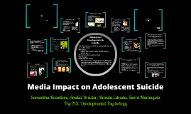 Media Impact on Adolescent Suicide
