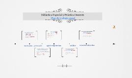 Didáctica Especial y Práctica Docente (desarollo)