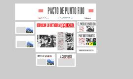 PACTO DE PUNTO FIJO