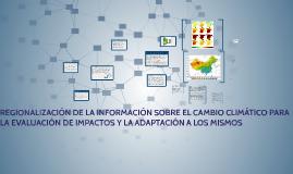 Regionalización de la información
