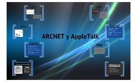 ARCNET y APPLETALK