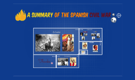 summary of the spanish civil war
