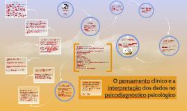 O pensamento clínico e a interpretação dos dados no psicodia