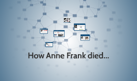 Copy of How Anne Frank died...