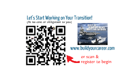Sultan Camp's Interactive Prezi for Transitioning Military looking for civilian jobs