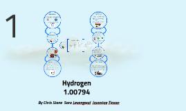 Copy of Hydrogen