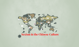 Sexism in the Chinese Culture