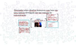 Discussão sobre direitos humanos com base em uma notícia di