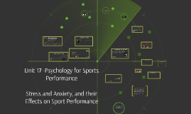 Copy of MWR - Unit 17 - Psychology of Sports Performance, Stress and Anxiety, and their Effects on Sport Performance