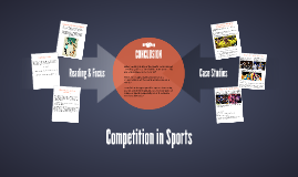 Competition in Sports