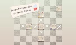 Personal Wellness Plan