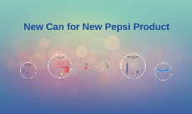 New Can for New Pepsi Product