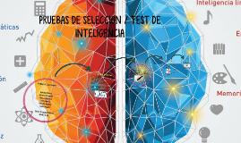 PRUEBAS DE SELECCION / TEST DE INTELIGENCIA
