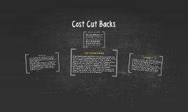 Cost Cut Backs