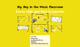 Hip Hop in the Music Classroom
