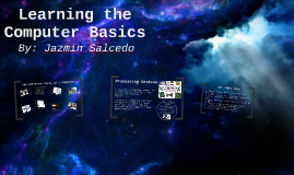 Learning the Computer Basic