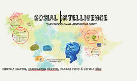Copy of SOCIAL INTELLIGENCE