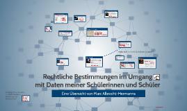 Rechtliche Bestimmungen im Umgang mit Facebook und Co.
