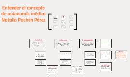 Copy of Entender el concepto de autonomía médica