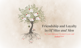 friendship and loyalty in of mice and men by kaitlyn on prezi