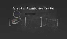 Future Green Processing about Flare Gas