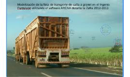 Copy of Modelización de la flota de transporte de caña a granel en e