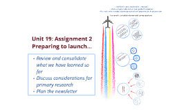 Unit 19 Assignment 2: week 3 review and assignment planning