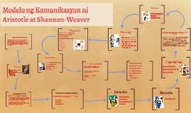Modelo ng Komunikasyon ni Aristotle at Shannon-Weaver