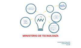 Ministerio de Tecnología