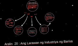 Mga Gawain ng Sektor ng Industriya